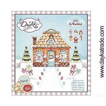 DayKa Trade Navidad 8x8 Inch Paper Pad