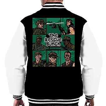 The Rescue Bunch Predator Men-apos;s Varsity Jacket