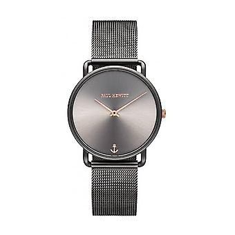PAUL HEWITT - Armbanduhr - Damen - MISS OCEAN GREY SUNRAY GREY METALIC MESH - PH002816
