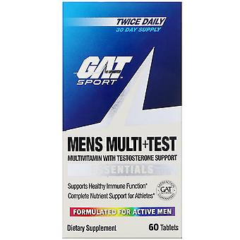 GAT, Mens Multi + Test, 60 tabletten