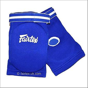 Fairtex competition elbow pads - blue