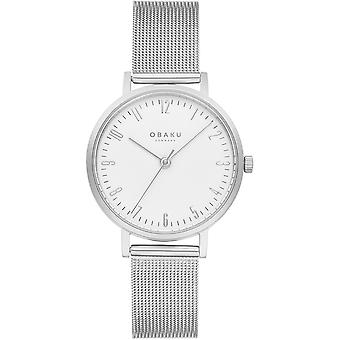 Obaku Brink Lille Steel Women's Wristwatch V248LXCIMC