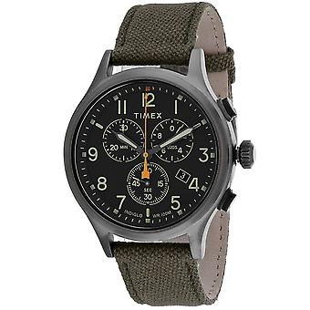 Timex Men's Allied Black Dial Uhr - TW2R47200
