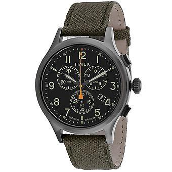 Timex Men's Allied Black Dial Watch - TW2R47200