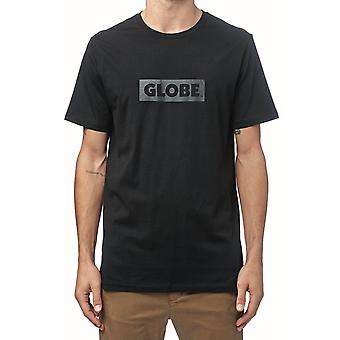 Globe box tee - ultra black