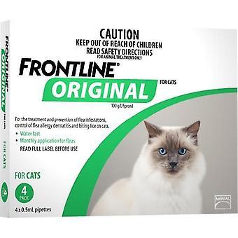 Frontlinie Original 4 Pack Katze