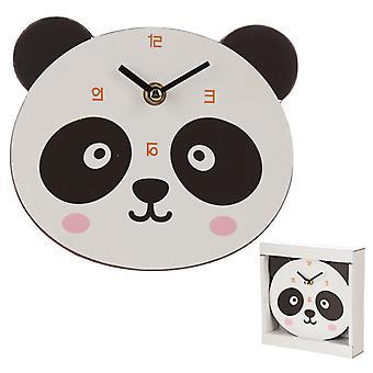 Söt Panda formad väggklocka X 1 Pack