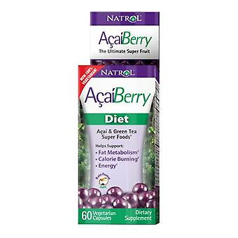 Natrol AcaiBerry Diet Super Foods, 60 CAPS