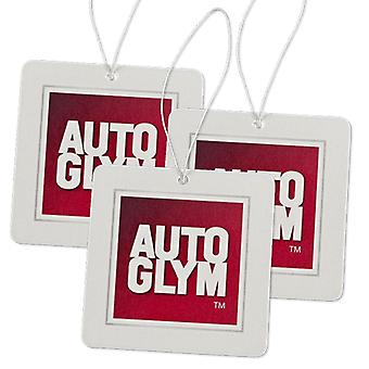 Autoglym car air freshener item adding clean scent smell to your car interior 2 pack