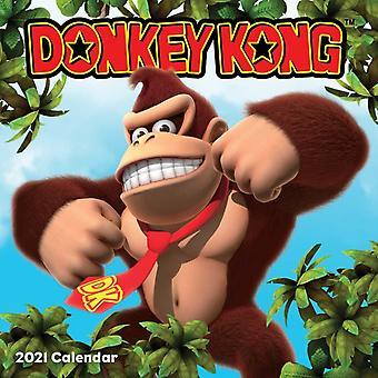 Donkey Kong 2021 Seinäkalenteri- tekijä Nintendo