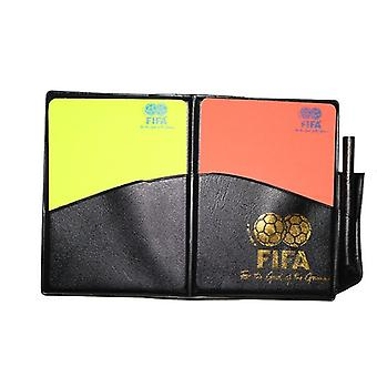 Training Referee Referees Notebook & Card Set (12x8.5cm)
