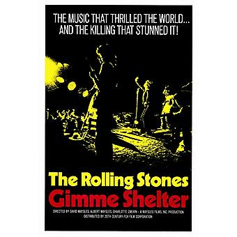 Gimme Shelter - Rolling Stones film plakat Print (27 x 40)