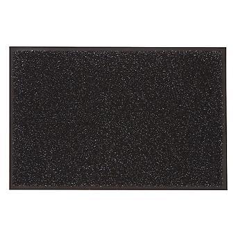 Likewise Washamat + Border Charcoal 80cm x 50cm