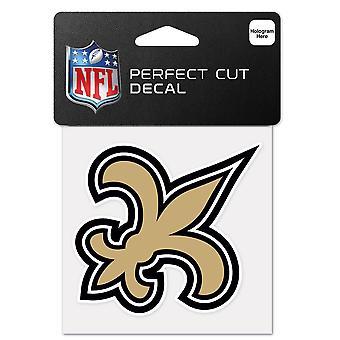 Wincraft klistermärke 10x10cm-NFL New Orleans Saints