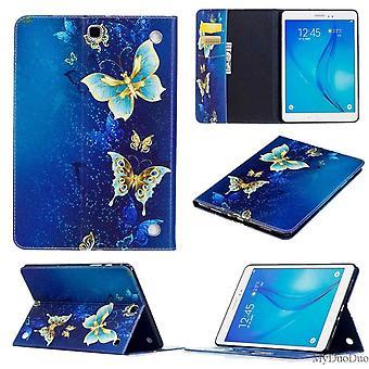 For Samsung Galaxy Tab S6 Lite P610 P615 Motivet 63 Tablet Case Art Lærveske