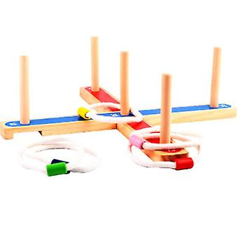 Wooden Ferrule Game Children's Educational Outdoor Parent-child Interactive Game