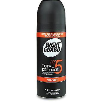 Right Guard Anti Perspirant - Sport 150ml x6