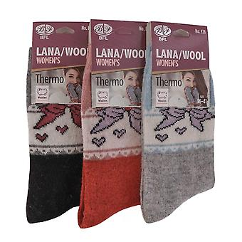 Uld sokker kvinder, ringsize 36-41