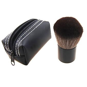 Kabuki muodostavat harja nylon hiukset alumiini putki - pu pussi kotelo