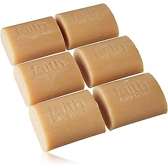 Faith in Nature Natural Coconut Hand Soap Bar, Parabens and SLS Free, 18 x 100 g