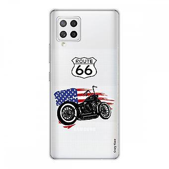Scafo per Samsung Galaxy A42 5g Silicone Soft 1 Mm, Moto Harley