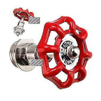 Wall Mounted Retro Creative Metal Hand Wheel Hooks