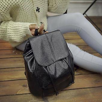 Girls Leather Backpack For Work Travel