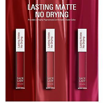 Matte Lipstick Makeup Long Lasting Liquid Lip Stick Nude Lip Tint Waterproof