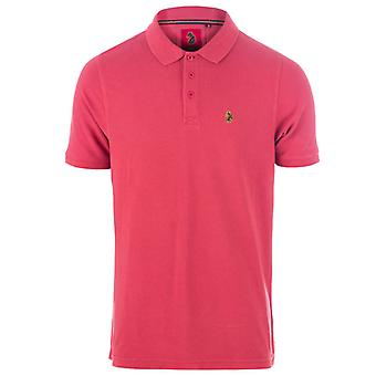 Men's Luke 1977 Williams Polo Camisa en Rojo