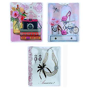 MI Torch The Accessorise Collection Ladies Women Hand Held Pocket/Handbag Torch Novelty Gift SC1747 - PACK OF THREE