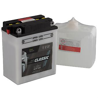 intAct CB12A-A Classic Bike-Power Battery With Acid Pack