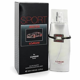 Mister Lomani Sport by Lomani Eau De Toilette Spray 3.3 oz / 100 ml (Men)