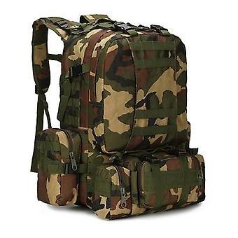 Herren Militärrucksack, 4 In 1 Molle Sport Tactical Bag