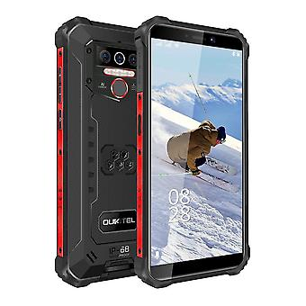 Ip68 Su Geçirmez 8000mah Android 10.0 Üçlü Kamera Yüz / parmak izi Mobil
