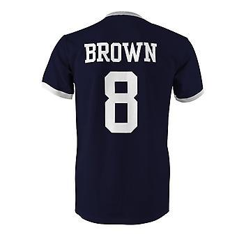 سكوت براون 8 اسكتلندا بلد المسابقة تي شيرت