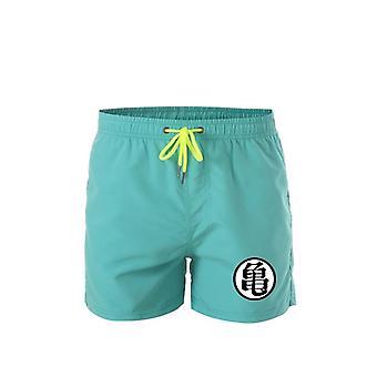Herren Casual Shorts Sommer Print Hose Strand Shorts Bademode