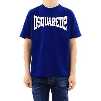 Dsquared2 T-Shirts Blue DQ0156D002FDQ865 Top