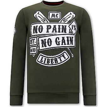 Sweater Met Print - Sons Of Anarchy - Groen