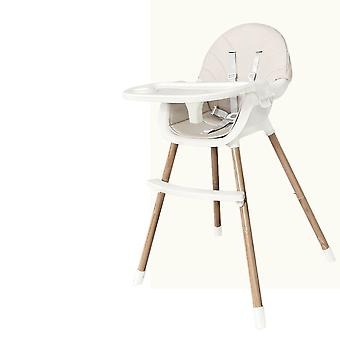 Multifunctional Portable Double Layer Baby Dining Table Seats With Pu Cover