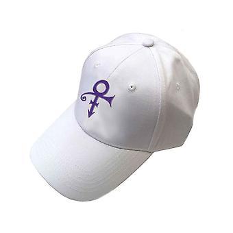 Prince Baseball Cap Purple Symbol new Official White Unisex