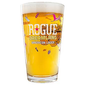 Rogue Dreamland Américain Lager Pint Glass