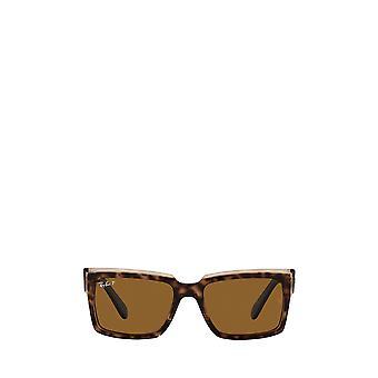 Ray-Ban RB2191 havana su occhiali da sole unisex marrone trasparente