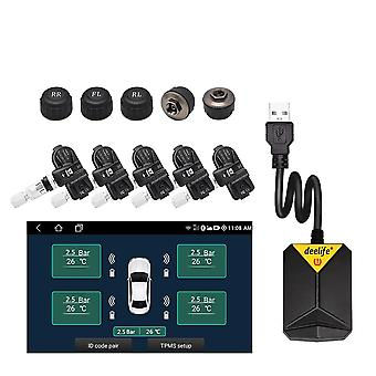 Deelife Android Tpms For Car Radio Dvd Player