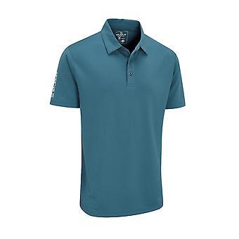 Stuburt Mens Sport Tech Polo Shirt Short Sleeve Buttons Top