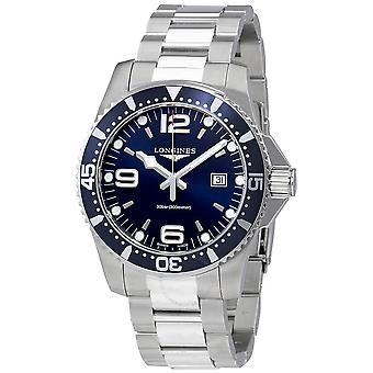 Longines HydroConquest Blue Dial Stainless Steel Men's 44mm Watch L38404966
