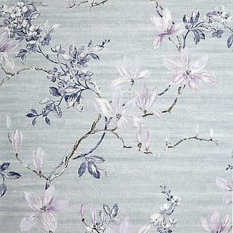 Jardin Fleuri Wallpaper Smokey Lilac Arthouse 293401