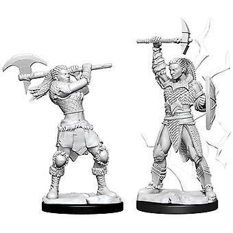 Goliath Female Barbarian Dungeons & Dragons Nolzurs Marvelous Miniatures 6 Packs
