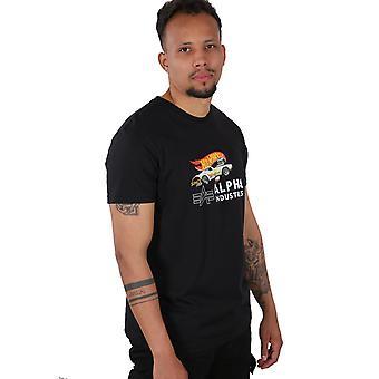 Alpha Industries Camiseta masculina Rodger Dodger T