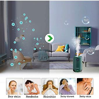 Wokex Ultraschall Luftbefeuchter, wiederaufladbarer Mini Humidifier 500ml, 30dB Ultra Leise