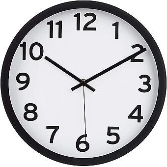 Gerui 30.5 Numbered Wall Clock, Black